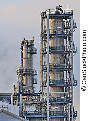 Oil Refinery - Initimate parts of a chemical installation