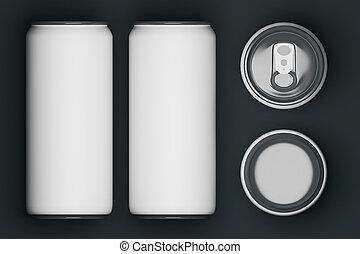 branca, Cerveja, latas