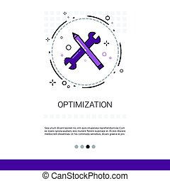 Effective Planning Strategy Optimization Business Web Banner With Copy Space
