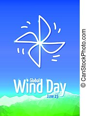 Global Wind Day 2017, June 15