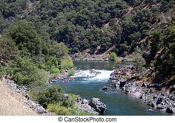 river rafting in california