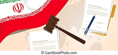 Iran law constitution legal judgment justice legislation...