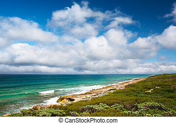 eastern side of the Isla Contoy, Mexico