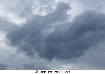 rain cloud dramatic moody sky background - rain cloud...