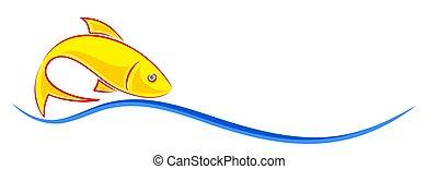 peixe, logotipo