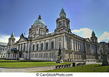 City Hall, Belfast Northern Ireland - Beautiful Picture of...