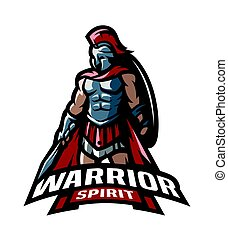 The Roman Warrior logo.