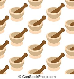 Mortar and Pestle for Spices pattern