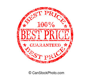 Best price stamp - Best price grunge rubber stamp