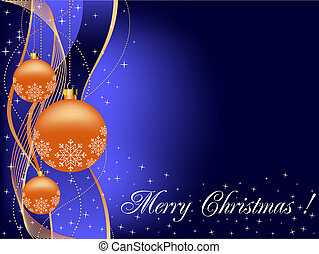 Christmas background, greeting card - Christmas background...