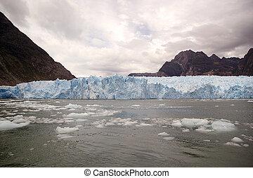 San Rafael Glacier, Patagonia, Chile - San Rafael Glacier...
