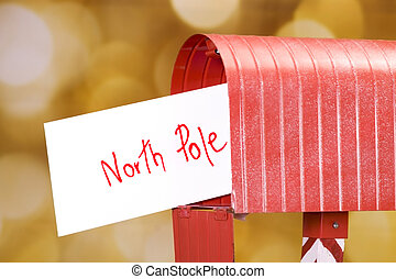 Letter to North Pole - Letter to santa with the address...