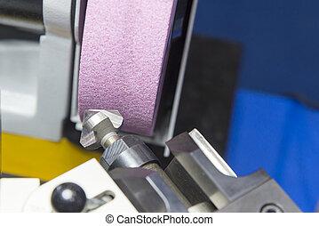 The drilling tool sharpener machine