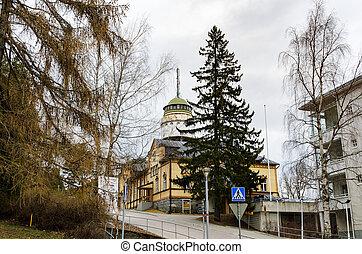 Mikkeli, Suomi or Finland - Water tower Naisvuori in...