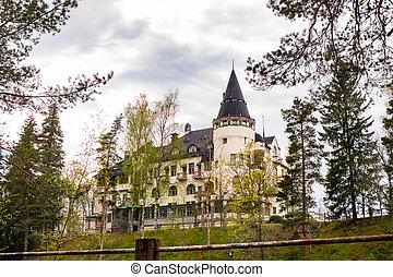 Imatra, Suomi or Finland - Art Nouveau house in Imatra,...