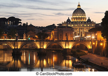 St. Peter's Basilica - Vatican City - Rome - Italy - St....