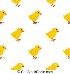 Chick pattern seamless
