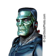 Robot Monster - Artificial Intelligence Threat - Robot...