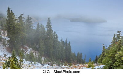Crater Lake National Park, Oregon, USA - It is the main...