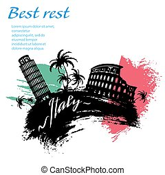 Italy travel grunge style