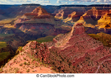 View from Above Cedar Ridge Grand Canyon South Rim