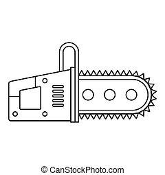 Chainsaw, Esboço, ícone