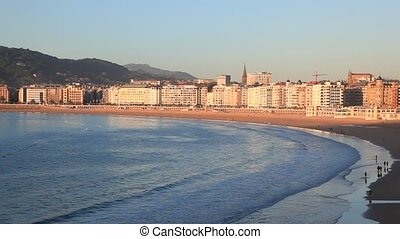 City of San Sebastian, Spain