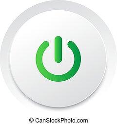 macht, Formaat, eenvoudig, knoop,  switch,  Vector,  UI