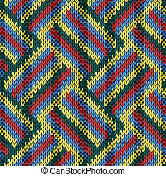 Knitting seamless variegated pattern - Knitting seamless...
