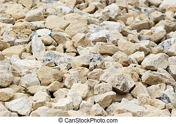 crushed natural stones - background of crushed natural...