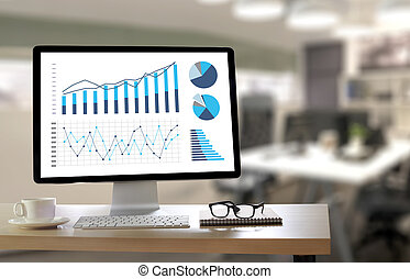 Statistics Analysis Business Data Diagram Growth Increase...