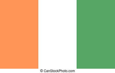 Cote-d-Ivoire  - Cote d Ivoire flag