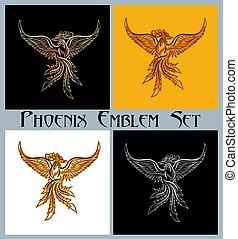 Phoenix Emblem set