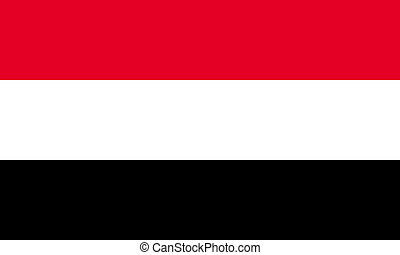 Egypt; Yemen  - Egypt or Yemen  flags