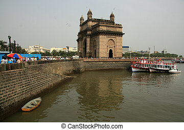 gateway, Para, Índia, Mumbai, Índia