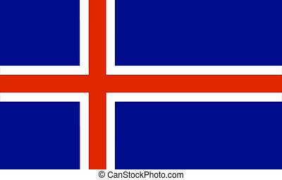 Iceland  - iceland flag