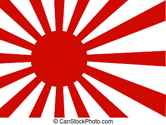 Japan oldtime - Japanese old imperial flag