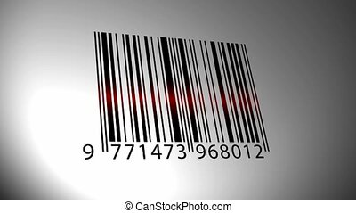 Barcode scanning from different sides