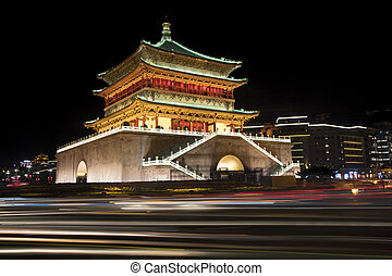 The Bell Tower of Xi'an China