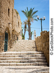 old city Jaffa - the old port city of Jaffa in Tel Aviv