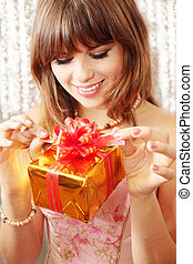 open the gift