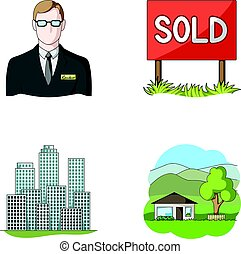 Employee of the agency, sold, metropolis, country house....