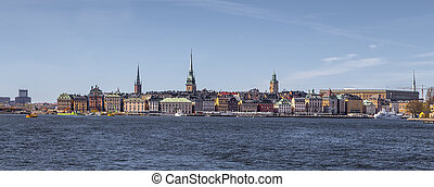 The historical center of Stockholm is Gamla Stan. Sweden