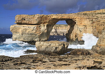 Azure Window, Gozo Malta - Azure Window, is a famous...