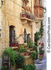 mdina, vicolo,  Malta