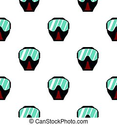 Paintball mask pattern flat - Paintball mask pattern...