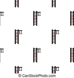 Swedish ladder pattern flat - Swedish ladder pattern...