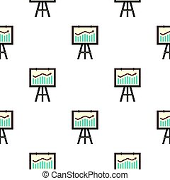 Graphic pattern flat - Graphic pattern seamless flat style...
