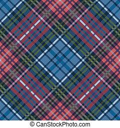 Seamless checkered diagonal pattern