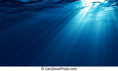 Underwater - Loopable underwater scene with light rays Other...